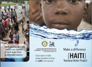 haiti water project brochue