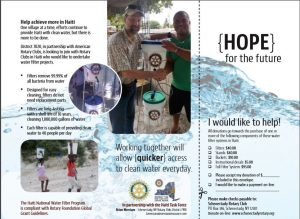 haiti water project brochure page 2
