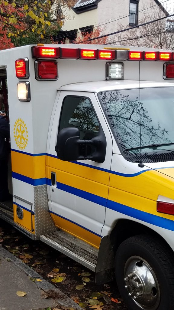 donated ambulance