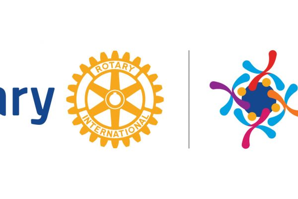Rotary Logo: Rotary Connects the World